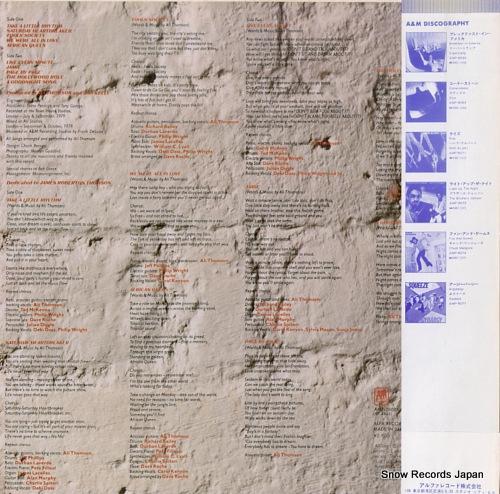 THOMSON, ALI take a little rhythm AMP-28001 - back cover