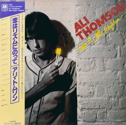 THOMSON, ALI take a little rhythm AMP-28001 - front cover