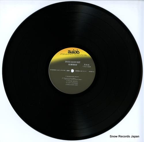 SATO, NOBUHIKO spanish harlem night 28BA-4 - disc