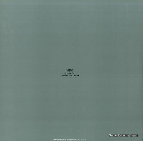BOHM, KARL brahms; symphony no.1 in c minor, op.68 MG-2010 - back cover