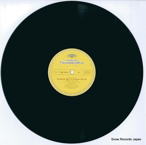 BOHM, KARL brahms; symphony no.1 in c minor, op.68 MG-2010 - disc