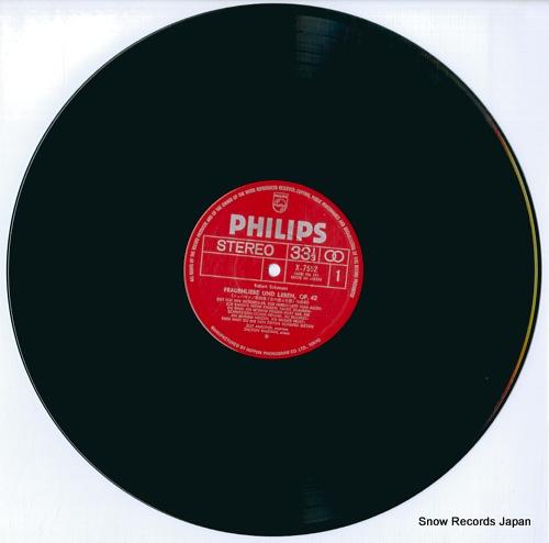 AMELING, ELLY schumann; frauenliebe und leben X-7552 - disc
