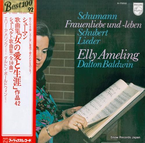 AMELING, ELLY schumann; frauenliebe und leben X-7552 - front cover