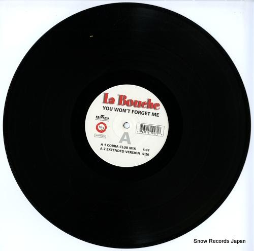 LA BOUCHE you won't forget me 74321519271 - disc