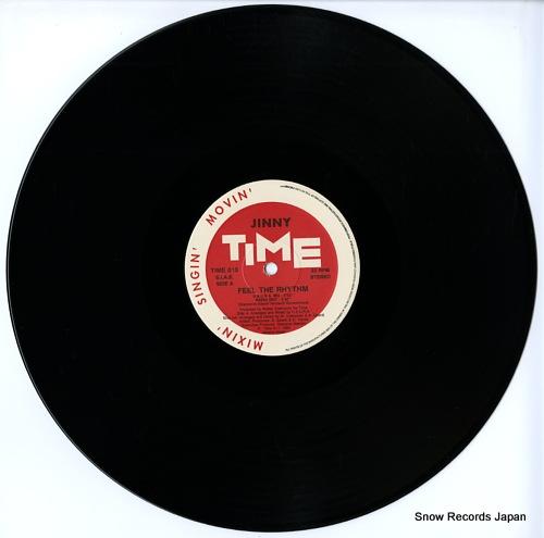 JINNY feel the rhythm(u.s.u.r.a. remixes) TIME016 - disc