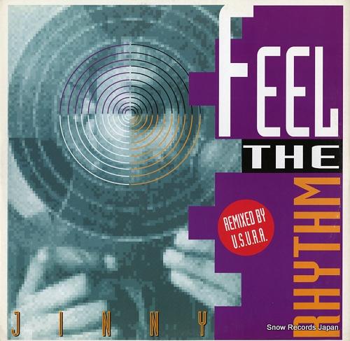 JINNY feel the rhythm(u.s.u.r.a. remixes) TIME016 - front cover