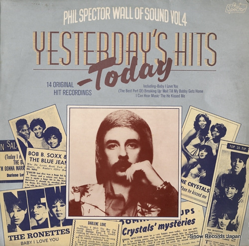 V/A yesterday's hits today 2307007 - front cover