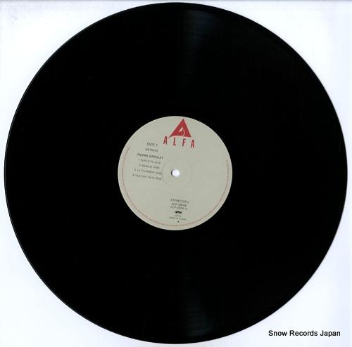 BAROUH, PIERRE sierras ALR-28056 - disc