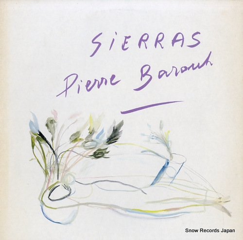 BAROUH, PIERRE sierras ALR-28056 - front cover