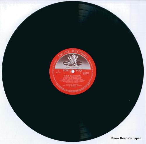 GIGLI, BENIAMINO italian classic song AB-8088 - disc