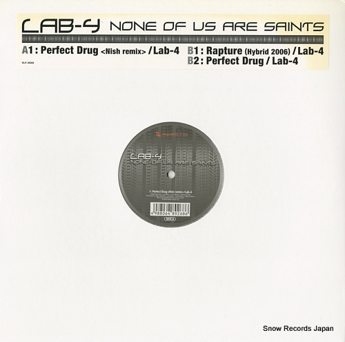 LAB4 none of us are saints VEJT-89268 - front cover