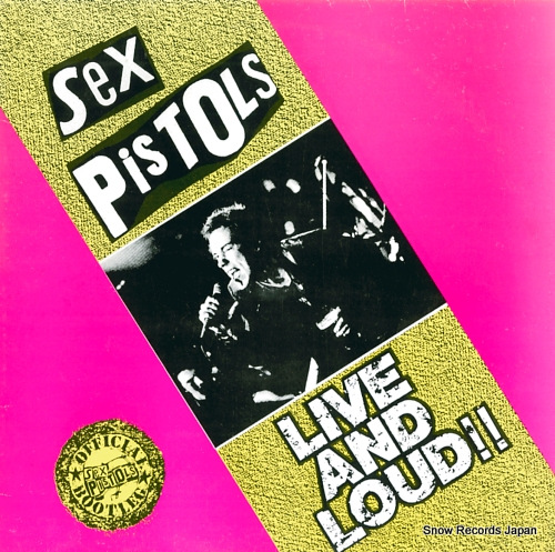 セックス・ピストルズ live and loud!! LINKLP063