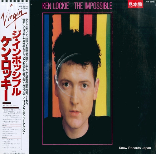 LOCKIE, KEN the impossible VIP-6978 - front cover