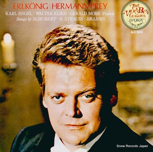 PREY, HERMANN erlkonig SLC6031 - front cover