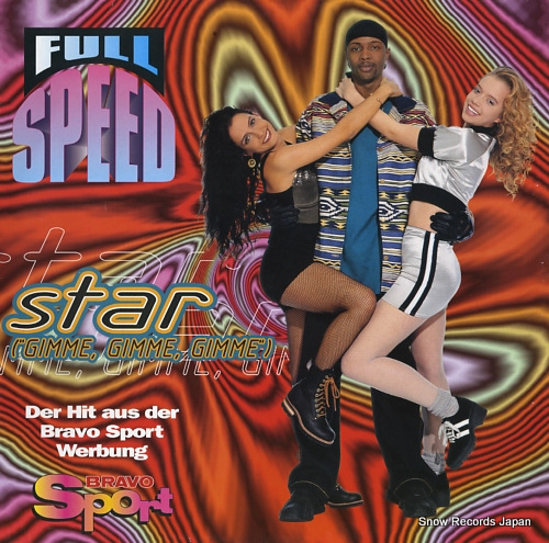 FULL SPEED star 4509-98815-0 - front cover