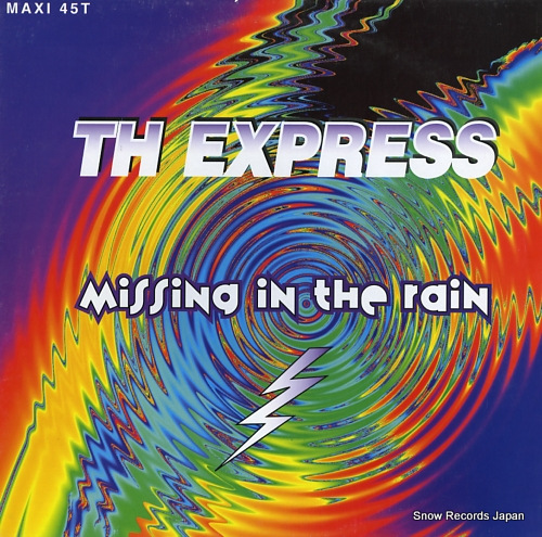 TH EXPRESS missing in the rain 140153 - front cover
