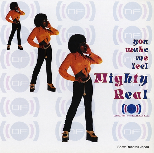 DREAM FREQUENCY you make me feel mighty real CBE1275 - front cover