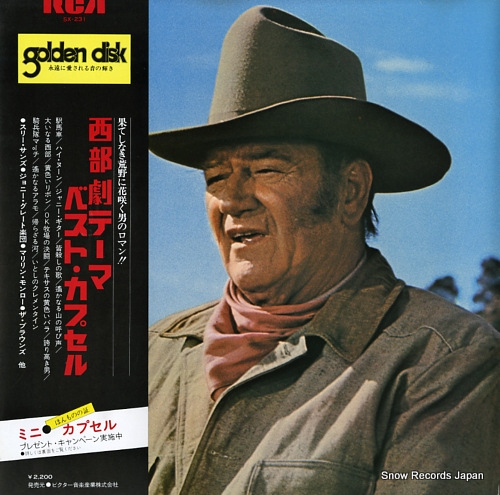 V/A western screen theme SX-231 - front cover