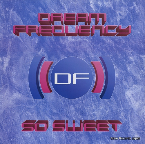 DREAM FREQUENCY so sweet CBE1272 - front cover