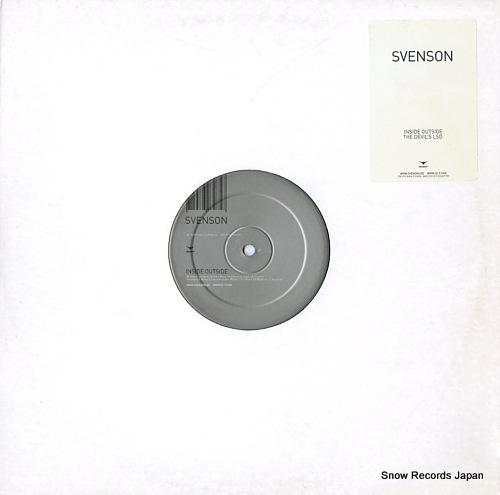 SVENSON inside outside / the devil's lsd 7007975 - front cover
