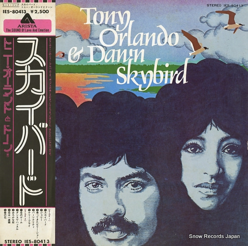 ORLANDO, TONY, AND DAWN skybird IES-80413 - front cover