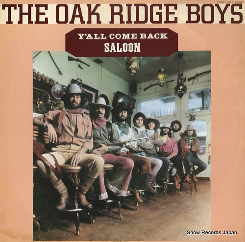 OAK RIDGE BOYS, THE y'all come back saloon YX-8135-AB - front cover