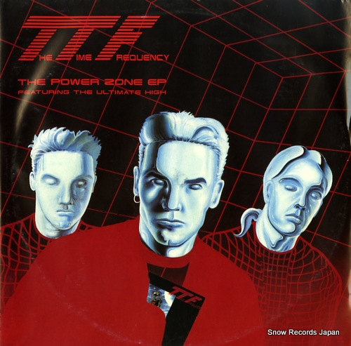 TIME FREQUENCY, THE the power zone ep KGBT010 - front cover