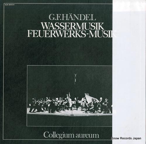 COLLEGIUM AUREUM hendel; wassermusik / feuerwerks-musik KUX-3010-H - back cover