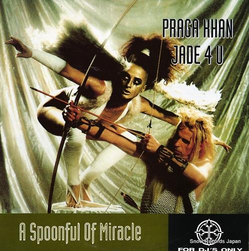 KHAN, PRAGA, AND JADE 4U a spoonful of miracle FILER439 - front cover
