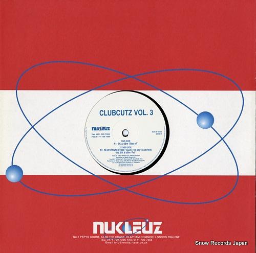 V/A clubcutz vol.3 NUKP0154 - back cover