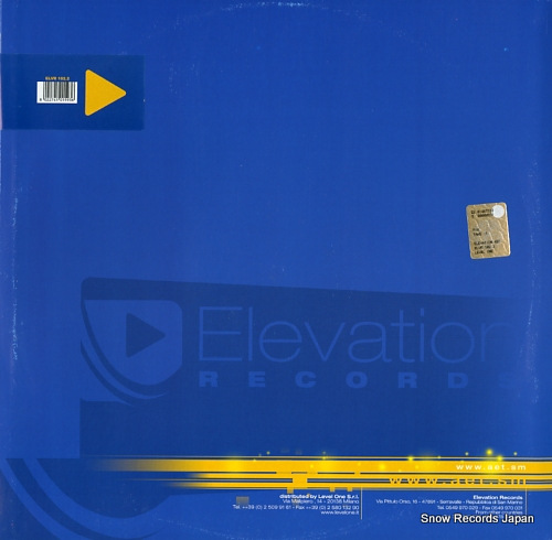 M.P.PROJECT take it ELVR102.2 - back cover