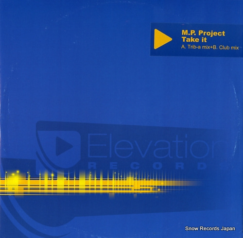M.P.PROJECT take it ELVR102.2 - front cover