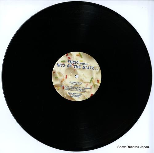 FUSIC hitz of the glitz e.p. CC703-5 - disc