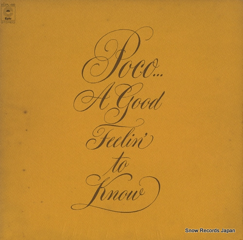 POCO a good feelin' to know ECPL-65 - front cover