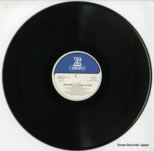 CORBOZ, MICHEL mozart; requiem kv.626 ERX-2153 - disc