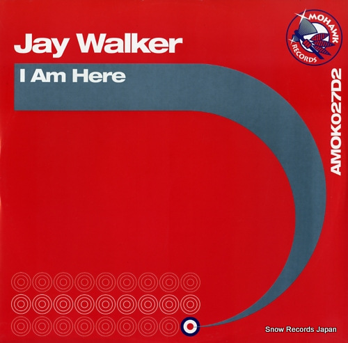 JAY WALKER i am here AMOKO27D2 - front cover