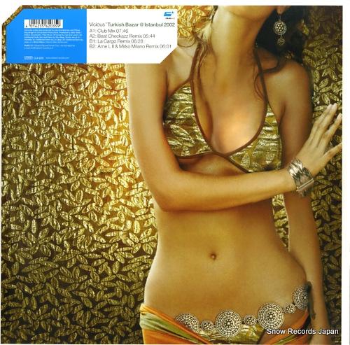 VICIOUS turkish bazar @ istanbul 2002 CLR035 - back cover