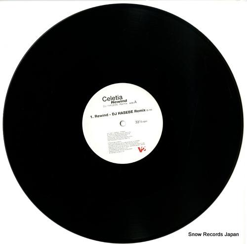 CELETIA rewind V2JI3001 - disc