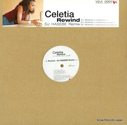 CELETIA rewind V2JI3001 - front cover