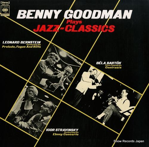 GOODMAN, BENNY plays jazz-classics SOCL-210 - front cover