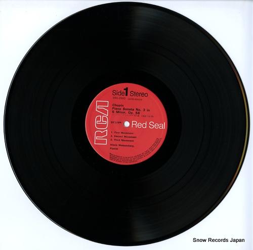 WEISSENBERG, ALEXIS chopin; sonata no.3 in b minor, op.58 SRA-2660 - disc