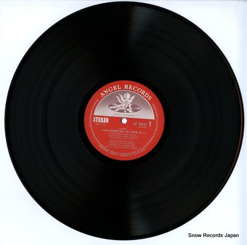 WEISSENBERG, ALEXIS chopin; piano concerto no.1, no.2 EAC-80045 - disc