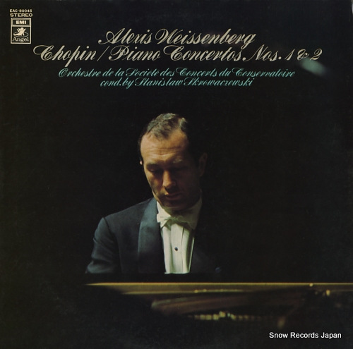 WEISSENBERG, ALEXIS chopin; piano concerto no.1, no.2 EAC-80045 - front cover