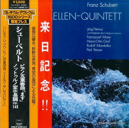 COLLEGIUM AUREUM schubert; forelle-quintett ULS-3179-H - front cover