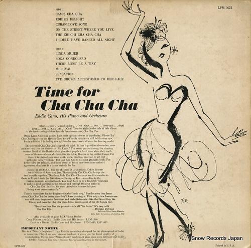 エディー・カノ time for cha cha cha LPM-1672