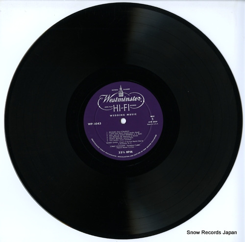 OWEN, ROBERT / ROBERT LOCKSMITH wedding music WP6043 - disc