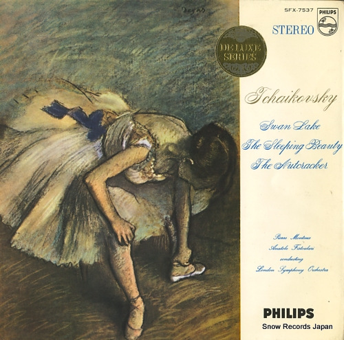 MONTEUX, PIERRE / ANATOLE FISTOULARI tchaikovsky; the swan lake SFX-7537 - front cover