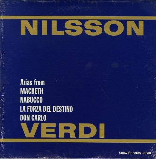 NILSSON, BIRGIT nilsson verdi OS25742 - back cover