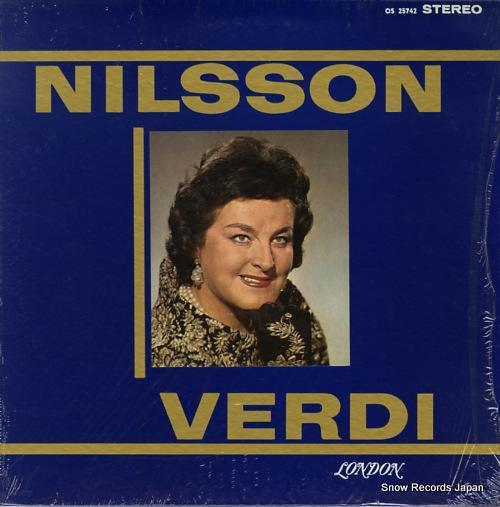 NILSSON, BIRGIT nilsson verdi OS25742 - front cover