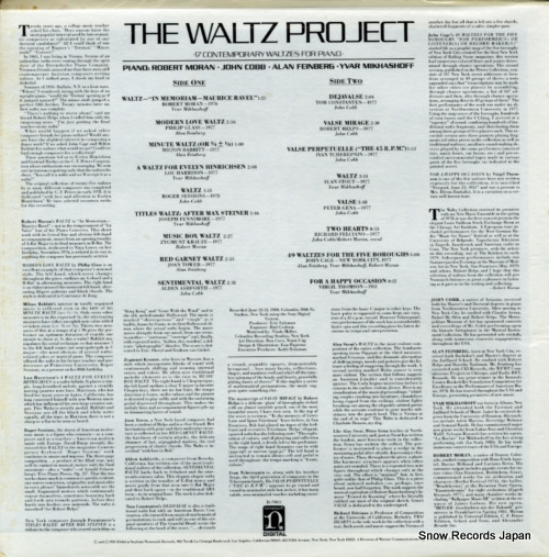 V/A the waltz project G-13008 / D-79011 - back cover
